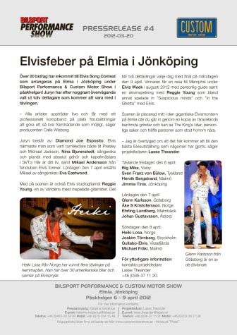 Elvisfeber på Elmia i Jönköping
