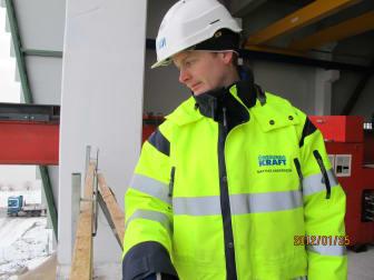 Projektingenjör Mattias Andersson