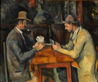 Paul Cézanne: Kortspillerne / The Card Players (1892-96), The Samuel Courtauld Trust, The Courtauld Gallery, London