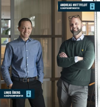 Linus och Andreas