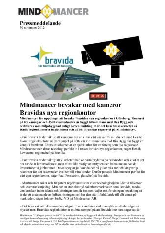 Mindmancer bevakar med kameror Bravidas nya regionkontor