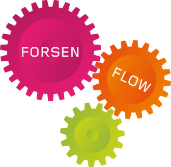 Sumbolen för Forsen Flow - Forsen ledningssystem