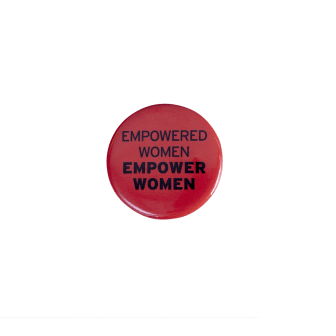 Power Pin Red - Empower You Empower Her