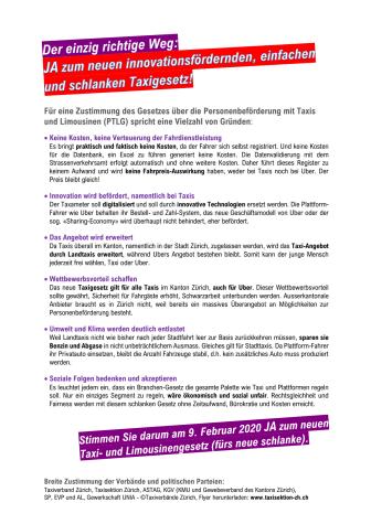 Kampagnen Flyer TSZ