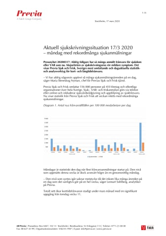 Pressnyhet Previa 20200317