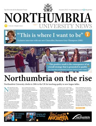 Northumbria University News Issue 7