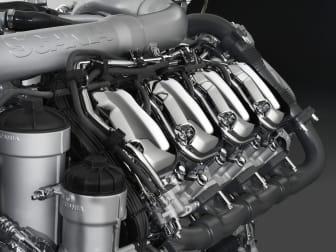 Scania V8-Motor