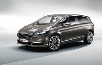Nya Ford S-MAX Concept_snett framifrån