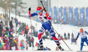 Marte Olsbu, normalprogram, VM i Holmenkollen 2016