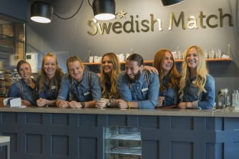 Personalen på Swedish Match Store Avenyn