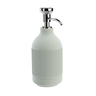 Pomd`or_x_Rosenthal_Equilibrium_Free_standing_soap_dispenser_Celadon_Rips_Chrome