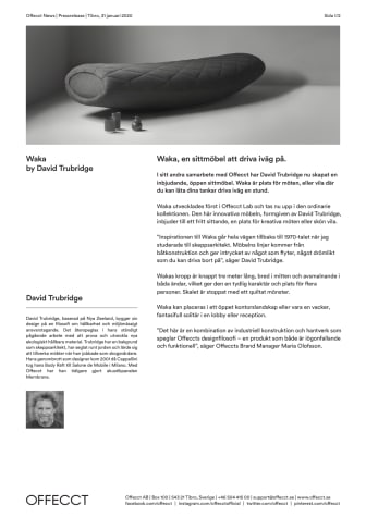 Offecct Press release Waka by David Trubridge_SE