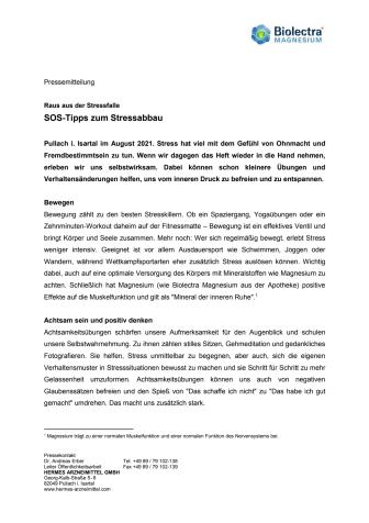Pressemitteilung Biolectra Magnesium - SOS-Tipps zum Stressabbau.pdf