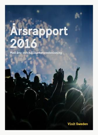 Visit Swedens års- och hållbarhetsrapport 2016