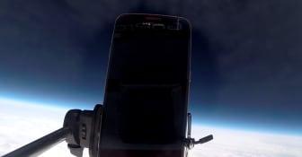 Ballongbilder fra 30.000 meters høyde