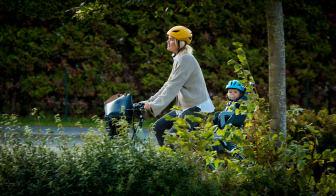 Crescents smartcykel Ellie med ABS-bromsar