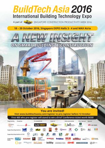 BuildTech Asia 2016 Visitor Information Brochure
