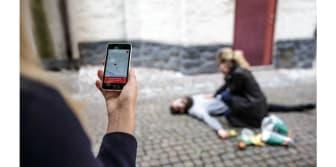SOS Alarm SMS-livräddning