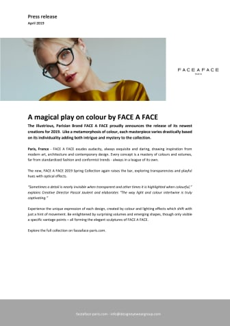A magical play on colour by FACE A FACE