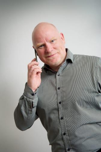 Dekningssjef Tommy Skogheim Johansen