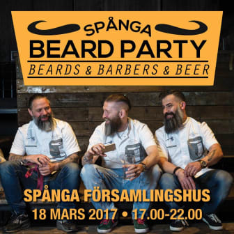Spånga Beard Party 2017