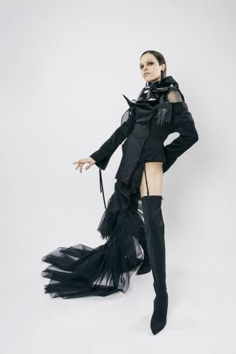 Sergio Castiglioni – Couture Black