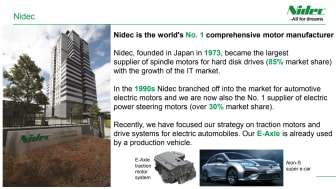 Nidec's automotive business