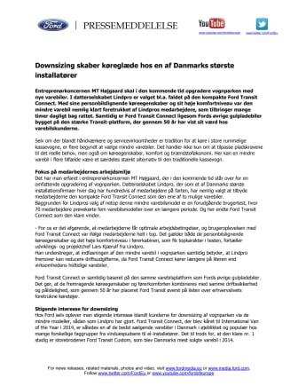 Downsizing skaber køreglæde hos en af Danmarks største installatører