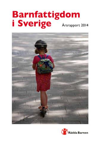 Årsrapport 2014: Barnfattigdom i Sverige