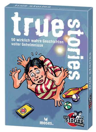 black stories Junior true stories - Cover