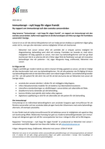 NMC_pressmeddelande om immunterapirapporten_210412.pdf