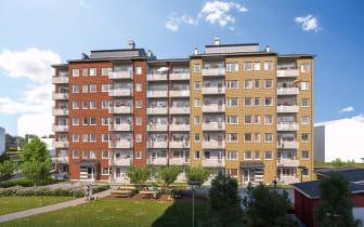 Berga Park, Riksbyggen, Linköping