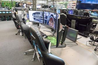 Gaming-avdeling Elkjøp Lørenskog 3