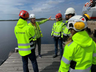 Visning av Umeå hamn
