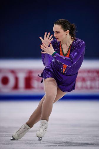 Josefin Taljegård i VM-final