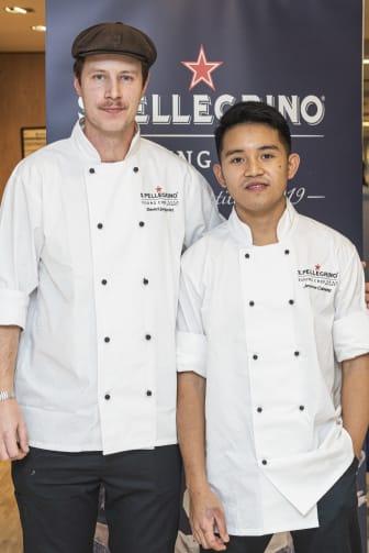 Jerome Calayag och David Ljungqvist