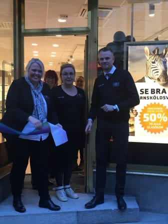 Öppning av butik i Örnsköldsvik