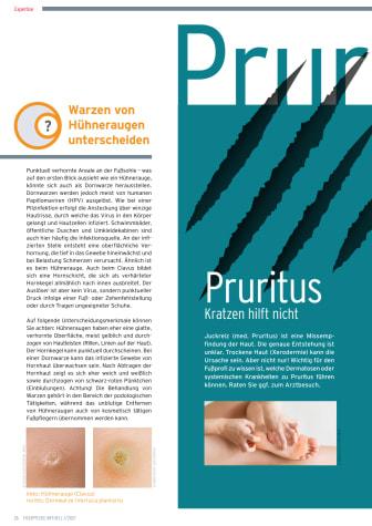Pruritus - Kratzen hilft nicht