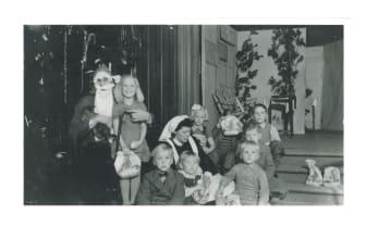 Julfest i Storstugan, tidigt 1900-tal