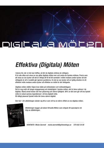 Effektiva (digitala) Möten
