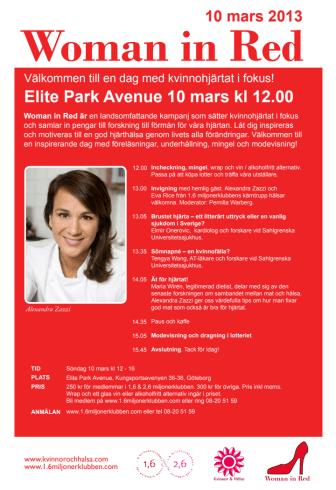 Woman in Red i Göteborg – en kväll med kvinnohjärtat i fokus!