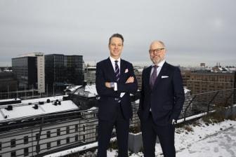 Tobias Wåhlén och Johan Herrström