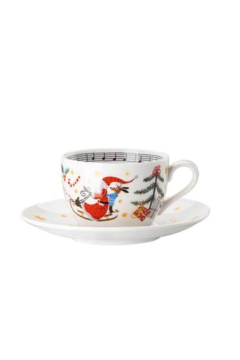 HR_'Morgen_kommt_der_Weihnachtsmann'_Cappucino_cup_and_saucer
