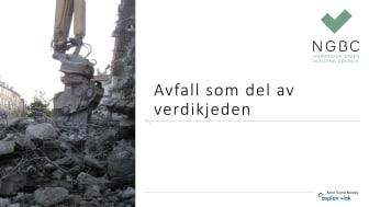 Presentasjon fra Anne-Sigrid Nordby - frokostmøte om avfallshåndtering