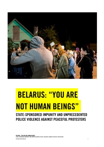 """210127 Belarus """"You are not human beings"""".pdf"""