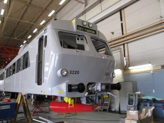 X12-tågen i UVEN-trafiken rustas upp.