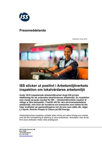 ISS sticker ut positivt i Arbetsmiljöverkets inspektion om lokalvårdares arbetsmiljö