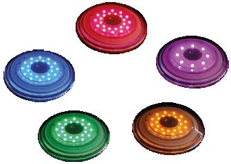 Ny rondellbelysning och effektbelysning!