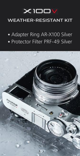Weather Kit_X100V_silver