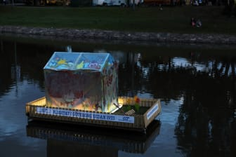 """Lysande hus i Vallgraven """"Konsten har hittat hem"""" Göteborgs Kulturkalas 2013"""